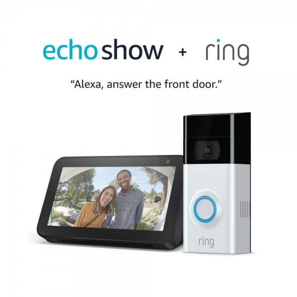 Ring Video Doorbell 2 and Echo Show 5