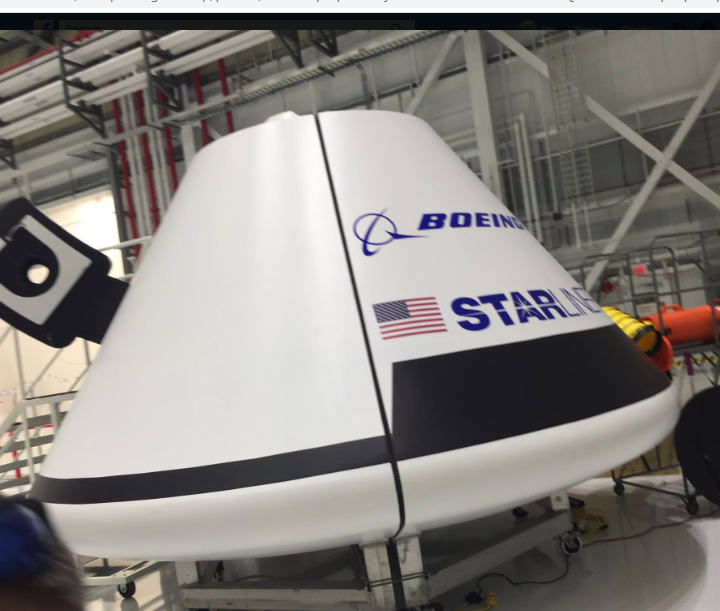 The Return of Boeing's Starliner capsule to Space Coast