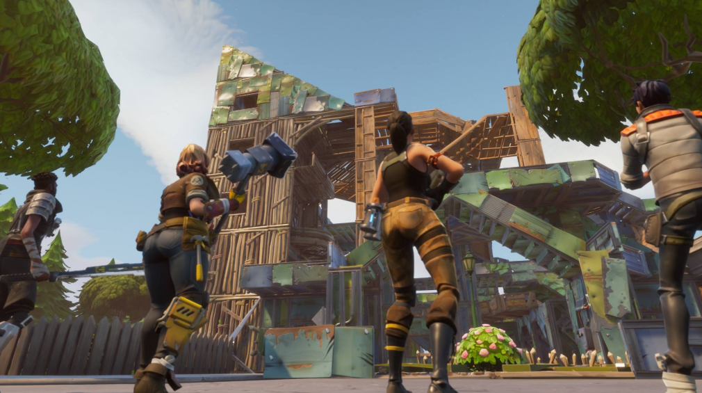 Building Structures:  Beginner's Guide to Fortnite