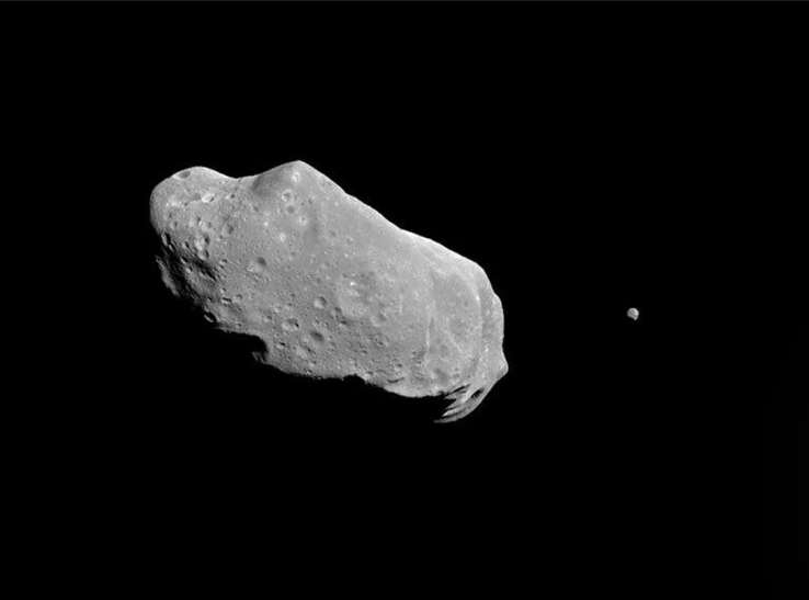 Potentially hazardous asteroid that zipped past Earth has its own 'moon'