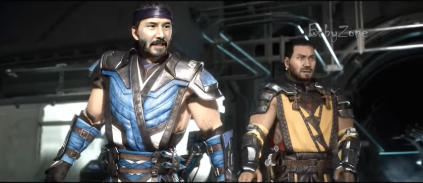 Watch Mortal Kombat 11 Adds New Characters Keanu Reeves The Rock