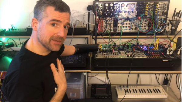 DJ With No Lower Arm Controls Synthesizer Using Only His Mind and Prosthetic Arm
