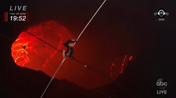 [WATCH VIDEO] What Could Have Gone Terribly Wrong with Nik Wallenda's Walk across Masaya Volcano!?