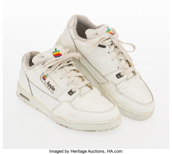 Rare Apple Sneakers Sold! Guess How Much This 90s Shoes Cost Now