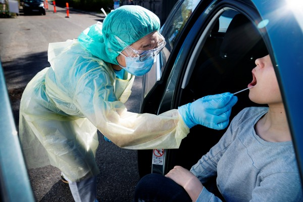 rapid coronavirus test
