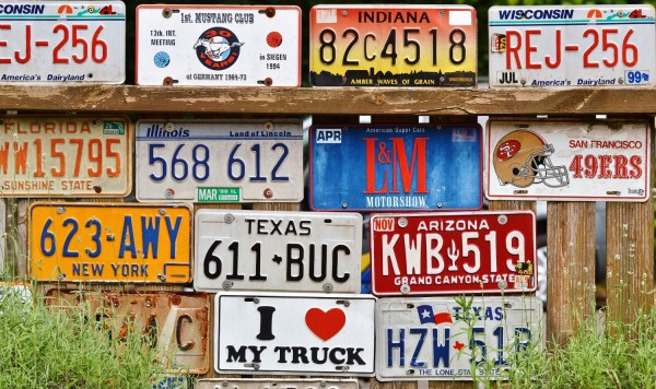 Vehicle number plates are so impersonal. They lack any sort of personalised feel - they're purely just a mix of letters and numbers that relate to when the precise vehicle was manufactured.