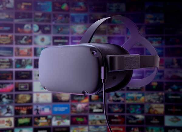 Oculus Quest Facebook hand-tracking tech controller-free