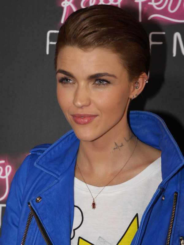 Ruby Rose at the Australian premiere of Katy Perry: Part of Me in Sydney, Australia.