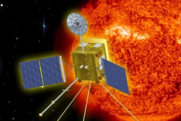 The Solar Orbiter circling the Sun