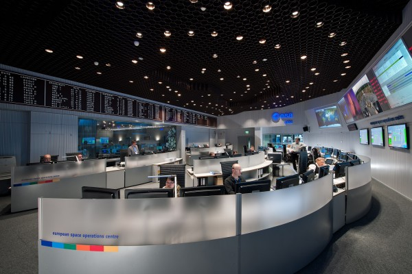 ESA's Mission Control (ESOC) Darmstadt