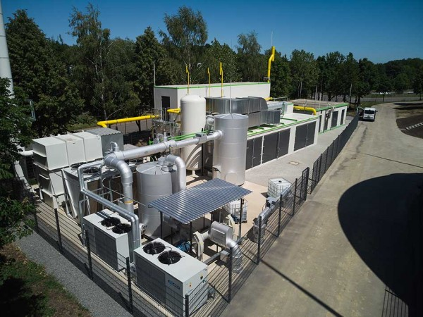 ETW Energietechnik supplies the biomethane upgrading technology for a 45 km biogas grid