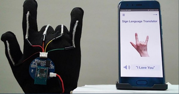 A New High-Tech Glove Was Developed by Scientists That Can Translate Sign Language Into Speech in Real Time
