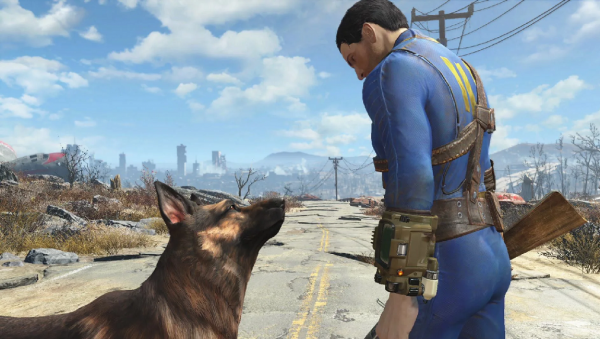 screenshots from Fallout game series
