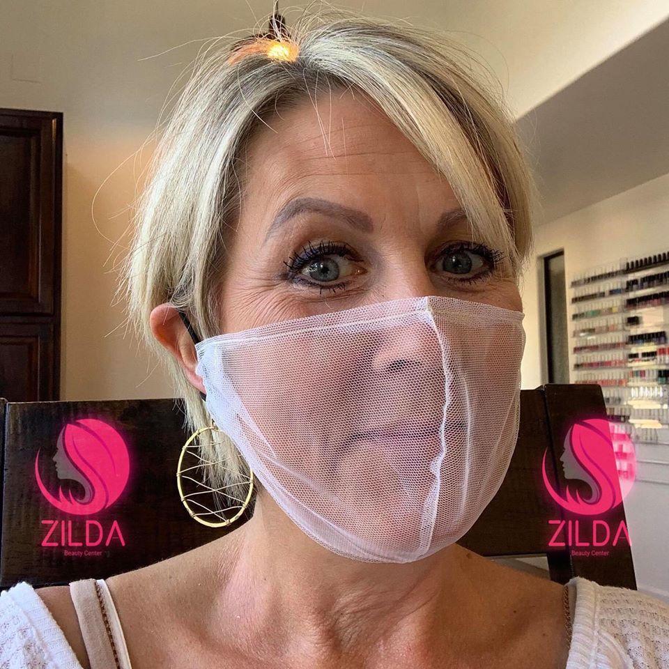 'Karen' Mask: This Viral See-Through Tulle Face Mask