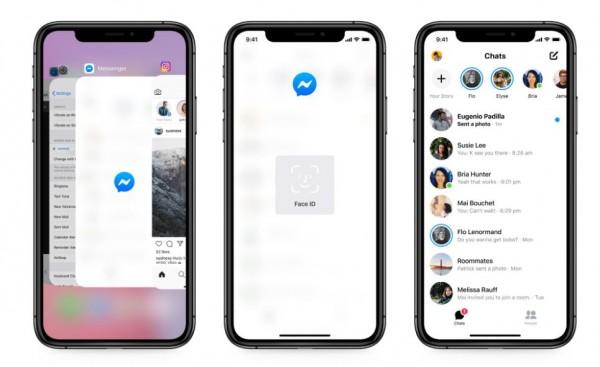 O Facebook Messenger lançou uma nova atualização de segurança: agora você pode bloquear seus bate-papos por trás do Face ID