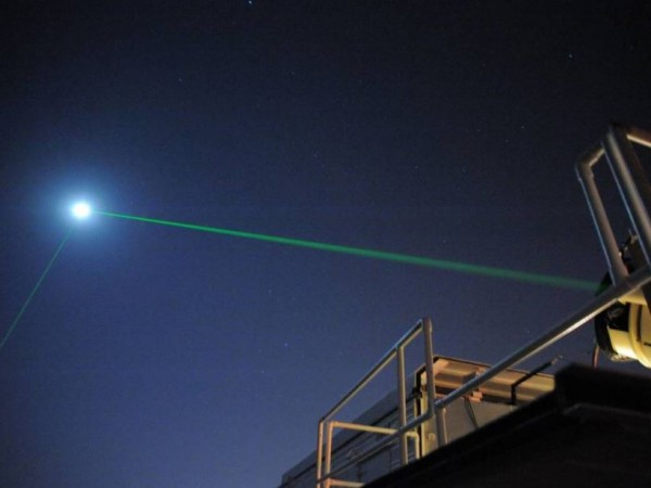 After Shooting Laser Beams, Scientists Discovered Something Happening Between Earth and Moon