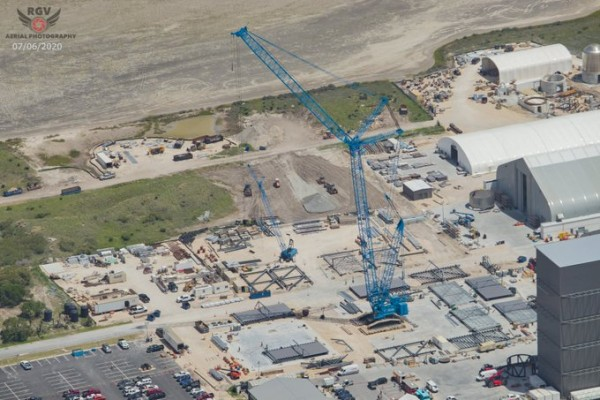 Space X Build Site