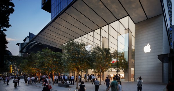 Floating Apple Store in Singapore: This is How it Could Look Like