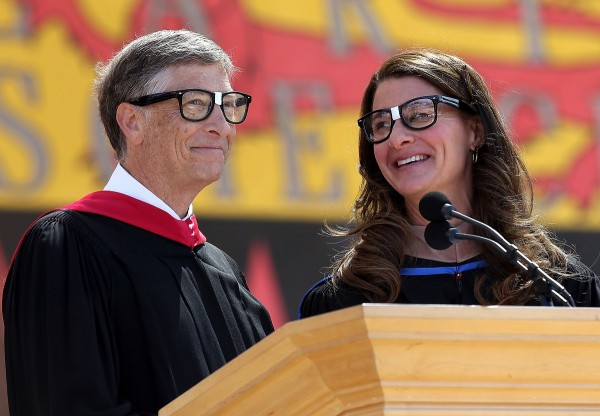 Bill And Melinda Gates Give Commencement Address At Stanford University