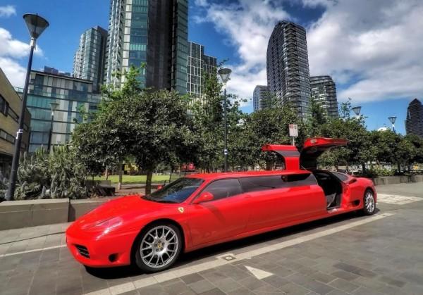 The 2003 Ferrari 360 Modena Limosine