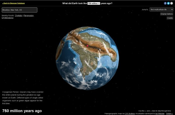 The Dinosaur Pictures website
