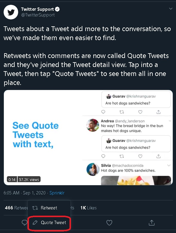 How To Use Twitter S New Quote Tweet Feature Tech Times