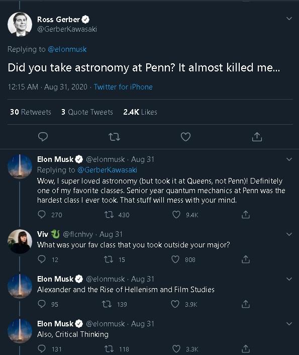 Elon Musk Education Q&A