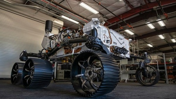 %name NASA trabaja en el Rover gemelo del Perseverance. Se le llamó Optimism