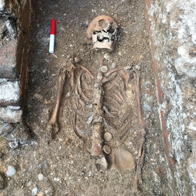 The remains were found to be those of Abbot John of Wheathampstead