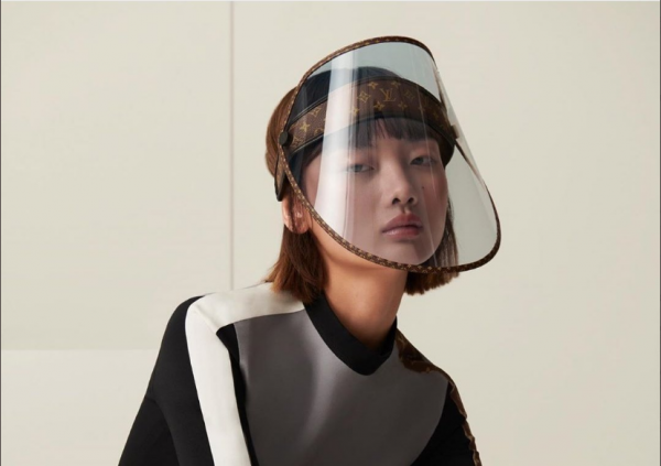 Louis Vuitton's Super-Expensive Face Shield Could be Used as A Stylish Cap! Would You Buy It?