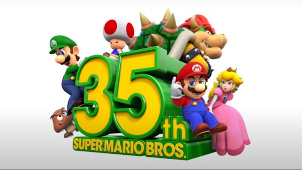 Super Mario Bros. celebrates 35th anniversary