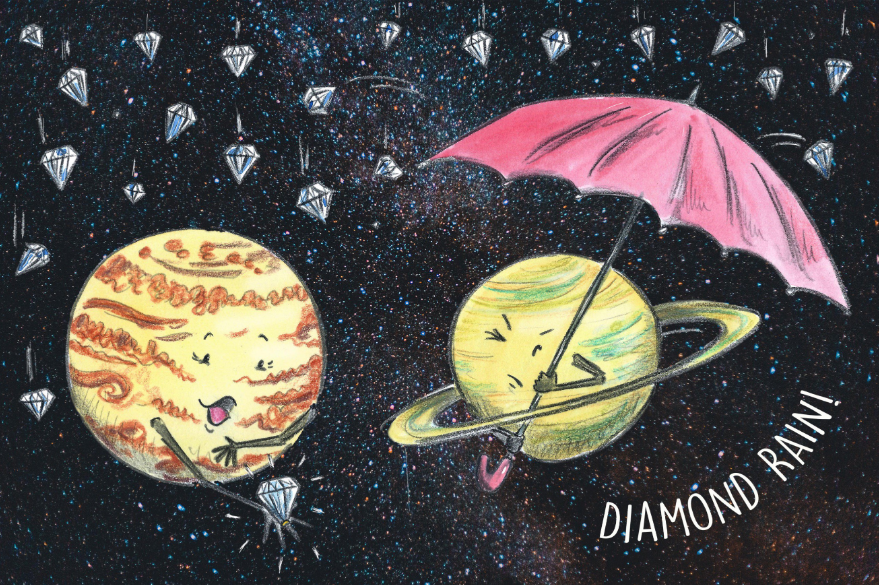 Scientists Discover Planets Made of Diamonds; They Claim Water Play an Important Role in the Phenomena
