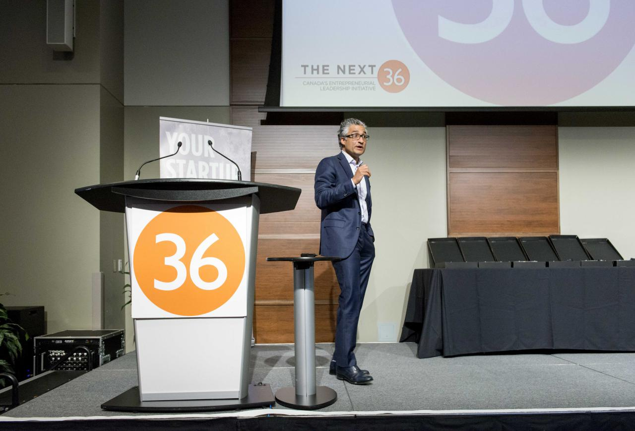 Interview: Reza Satchu of NEXT Canada Answers 5 Questions About Entrepreneurship