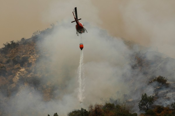Wildfires continues in California