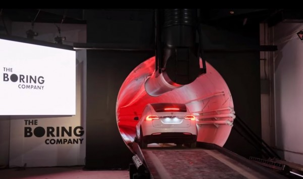 Elon Musk's Boring Company Tunnel From Las Vegas to Los Angeles