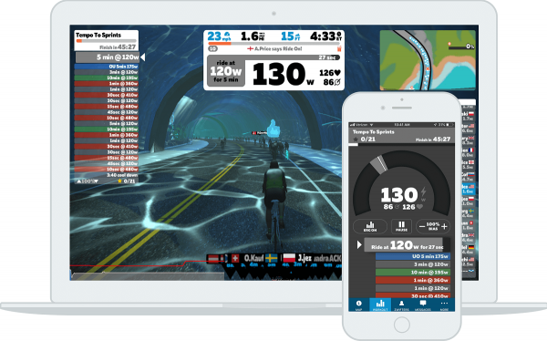 Hop on Zwift for an effective and heart-pumping  workout
