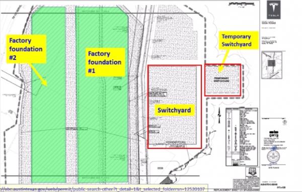 Tesla's Texas Gigafactory Shows Uncanny Resemblance to the Unfinished Nevada Gigafactory