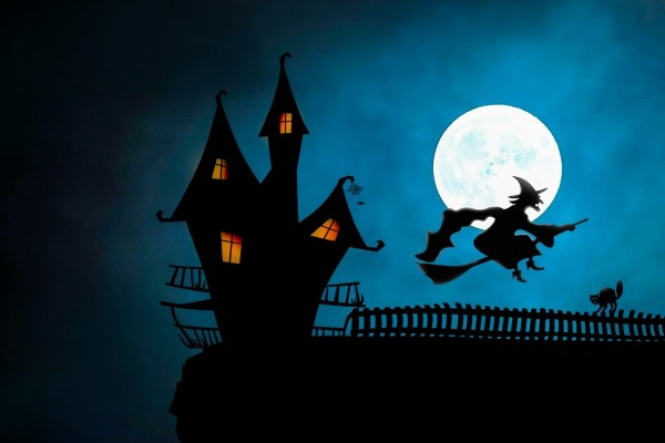 Blue moon Halloween 2020