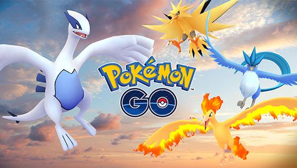 Pokémon GO Legendary Birds