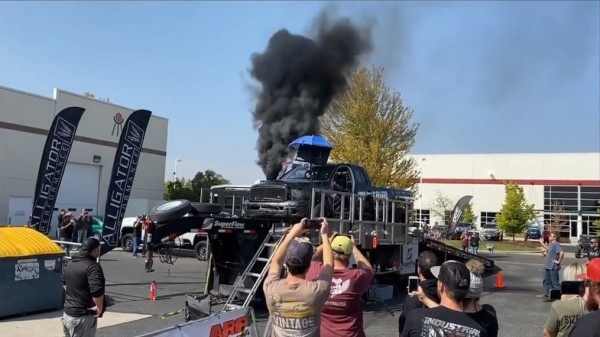 Cummins Truck Runs 2900 HP during Dyno Test event, ends up in massive ball of fire