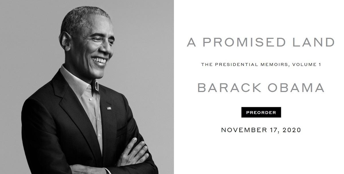 Barack Obama's A Promised Land memoir