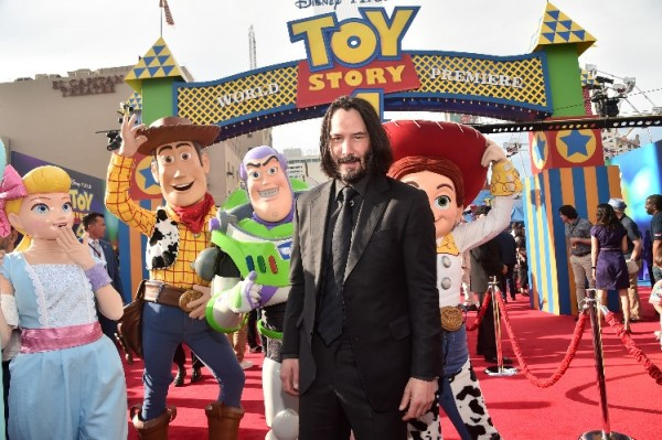 Disney's Toy Story 4 Gets Sued Over Keanu Reeves Character Copyright