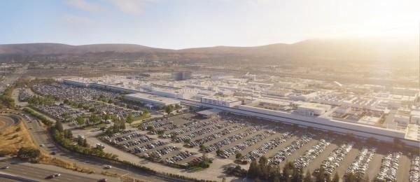 Tesla Fremont Gigafactory