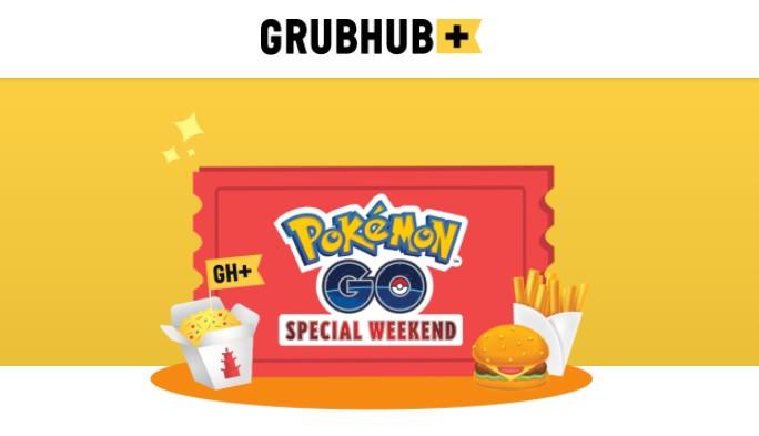 Pokemon Go Grubhub Special Weekend Event