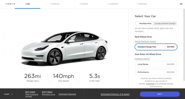 Tesla Model 3 'Refresh' New Update: 353 Miles Per Charge, New Aero Wheels, and More