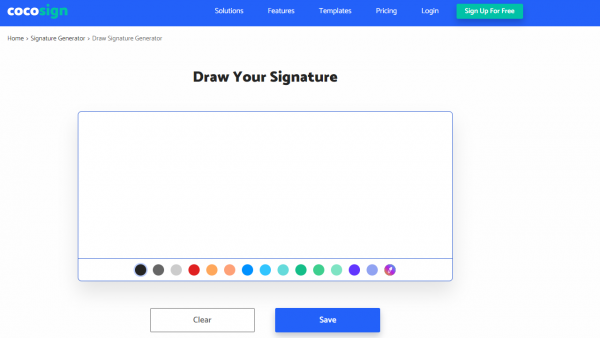 Draw your sig