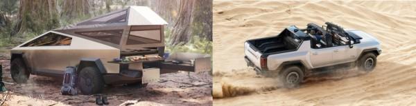 Tesla Cybertruck vs Hummer EV