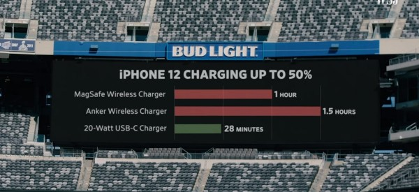 iPhone Charging up to 50%