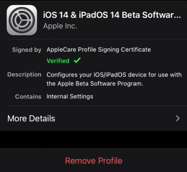 iOS 14 False Notification Fix