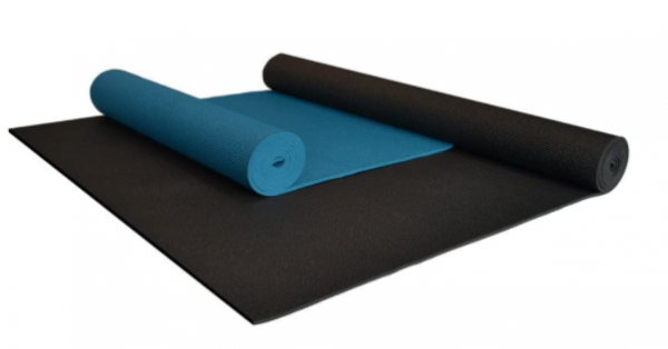 YogaAccessories Extra Wide and Extra Long Deluxe Yoga Mat